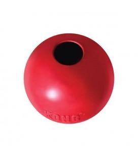 Balle en caoutchouc rouge classic - kong