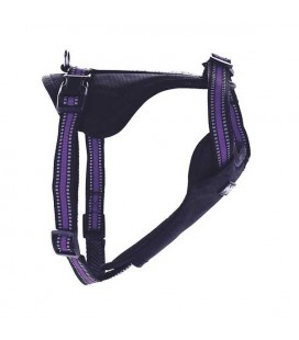 Harnais nylon violet sport - doggy