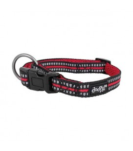 Collier nylon rouge sport - doggy