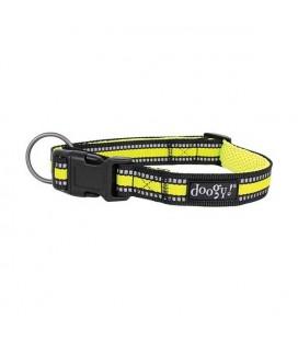 Collier nylon jaune néon sport - doggy