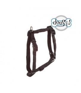 Harnais nylon noir classique essentiel - doggy