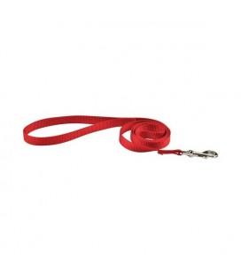 Laisse en nylon air mesh rouge - doggy