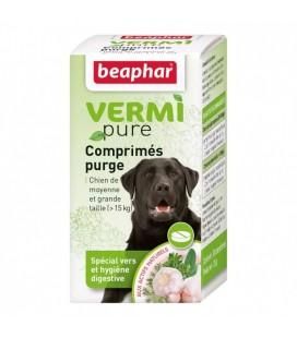 Comprimés Purge pour moyens et grands chiens beaphar