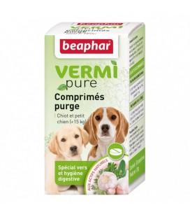 Comprimés purge pour chiots et petits chiens beaphar